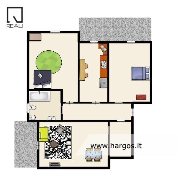 Appartamento in vendita a Roma, 3 locali, zona Zona: 18 . Ardeatino - Grotta Perfetta - Fonte Meravigliosa, prezzo € 275.000 | Cambio Casa.it