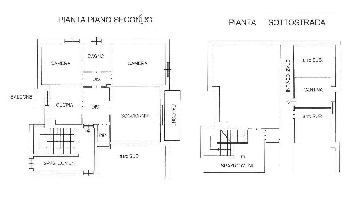 Rif. T3272 ROBECCO S/N- Zona Mercato 3 locali € 90.000
