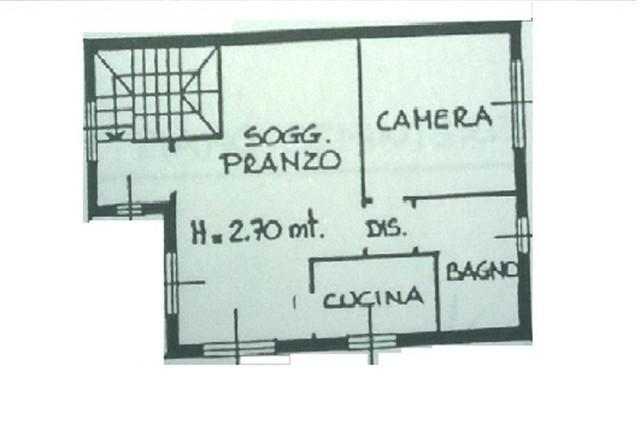 A2265 Magenta: 2 locali ARREDATO IN VILLA € 470