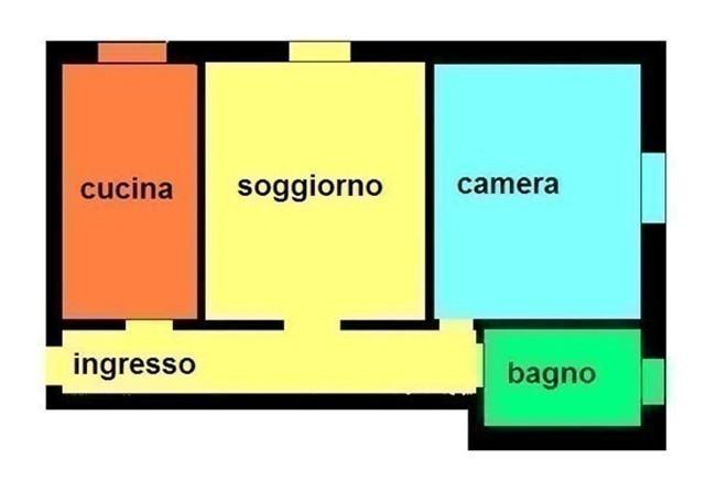 T257 Magenta: P.Rialzato 2 Locali  € 58.000