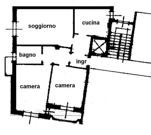 MAGENTA CENTRO - 3 LOCALI € 118.000 - T3171