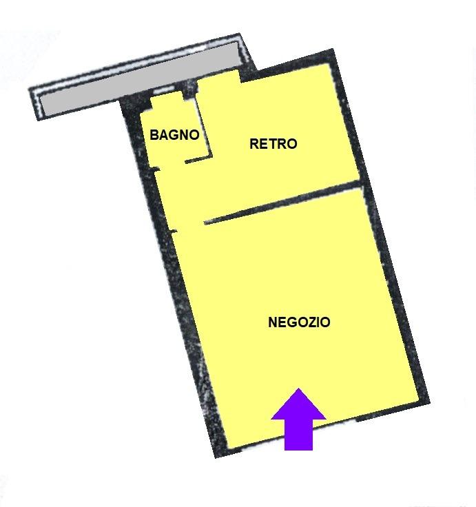 NA204 SAN MARTINO - NEGOZIO NON ARREDATO