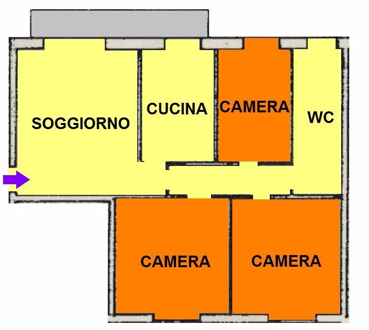 T432 BICOCCA - 4LOCALI+SERVIZI+BOX
