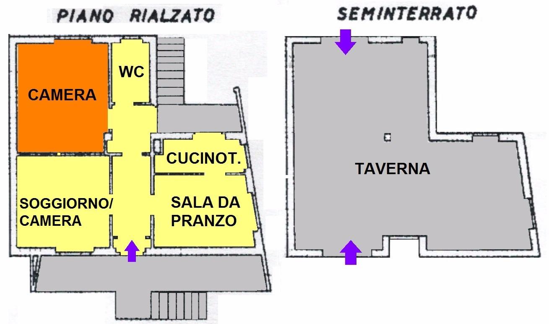 T309 SANT'ANTONIO - VILLA INDIPENDENTE LIBERA SU 4 LATI