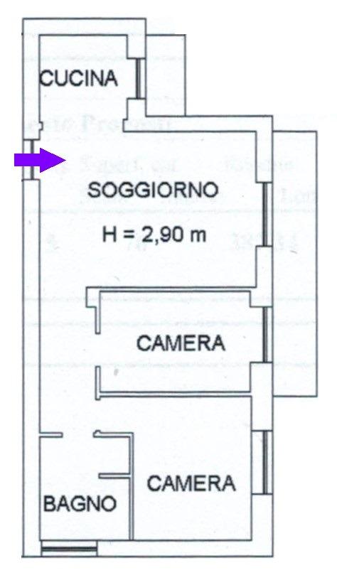 T338 SANT'ANTONIO - 3LOCALI+SERVIZI+BOX