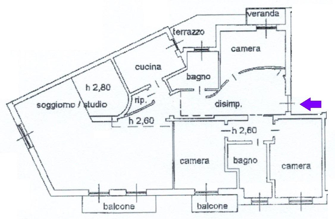 T413 SAN MARTINO - 4LOCALI+2SERVIZI+BOX+P.AUTO