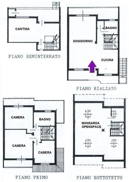 T442 TORRION QUARTARA - VILLA A SCHIERA DI TESTA