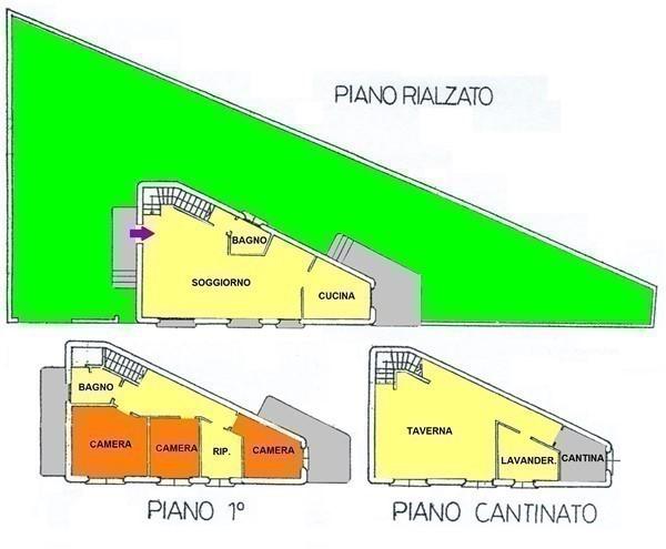 T404 BICOCCA - CASA SEMI-INDIPENDENTE CON GIARDINO