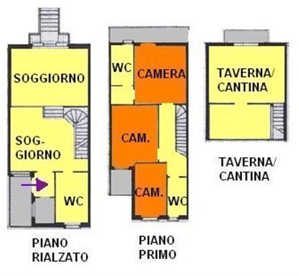 T423 CITTADELLA - VILLA A SCHIERA CENTRALE