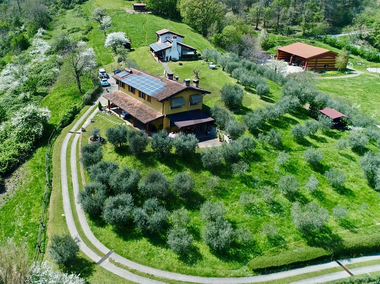 Concesio villa con maneggio in vendita