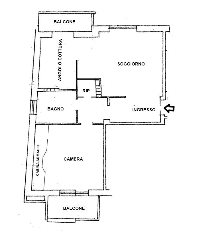 T253 | Appartamento in Vendita | Monteverde