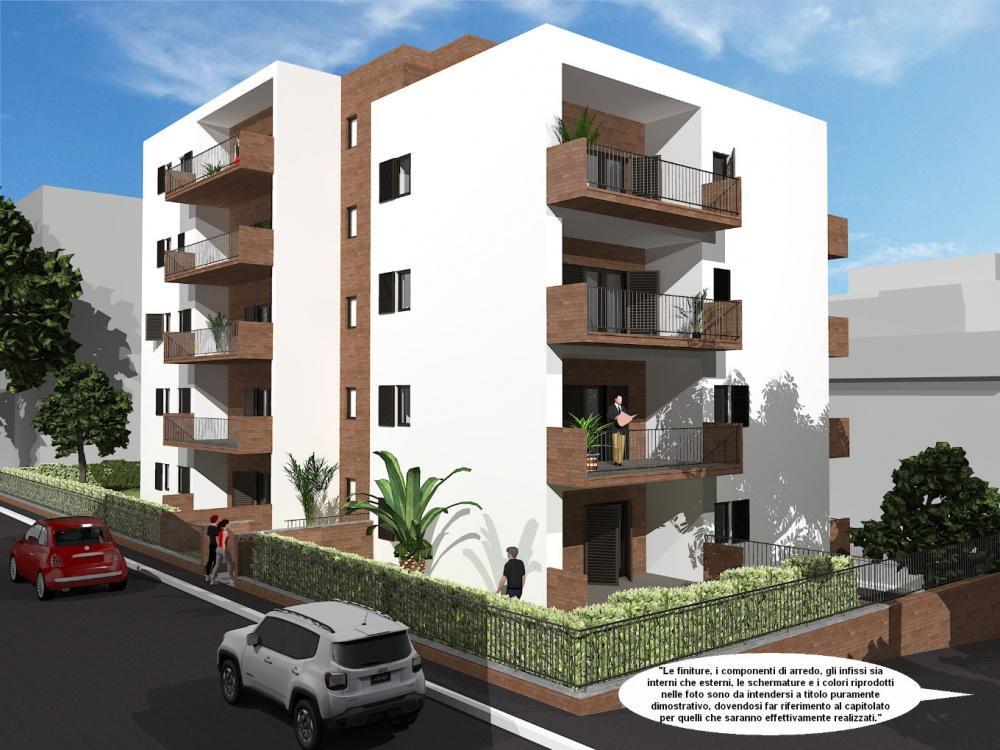 quadrilocale nuova costruzione a roma