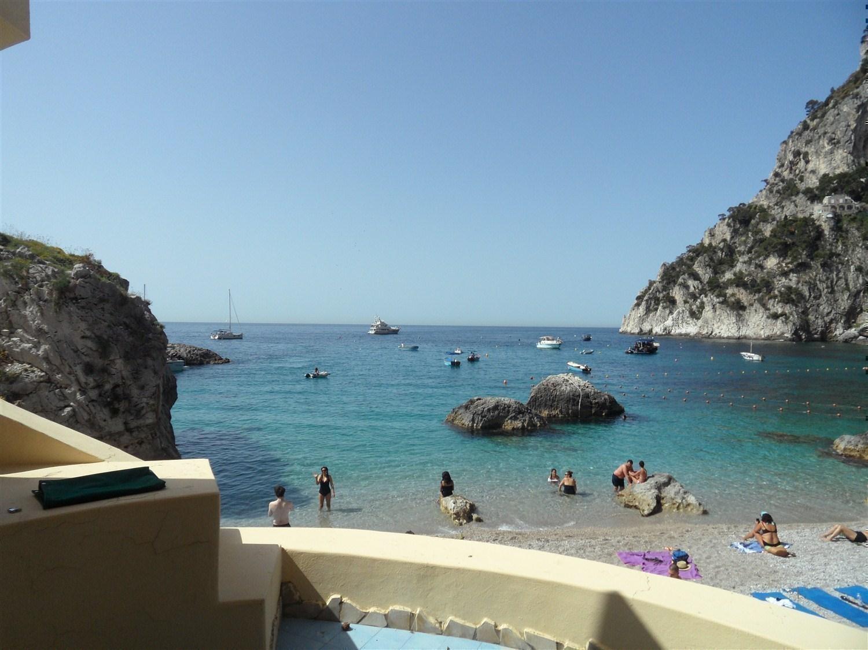 appartamento Capri con discesa al mare