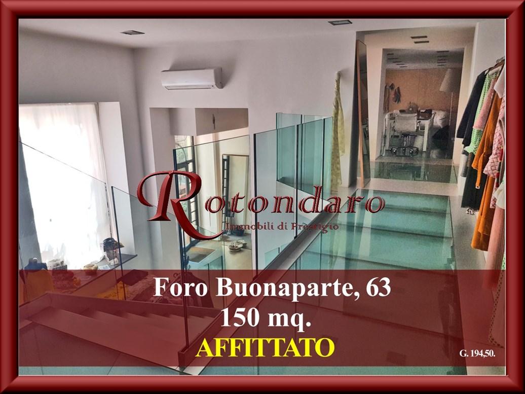 Ufficio in Affitto in Foro Buonaparte Milano