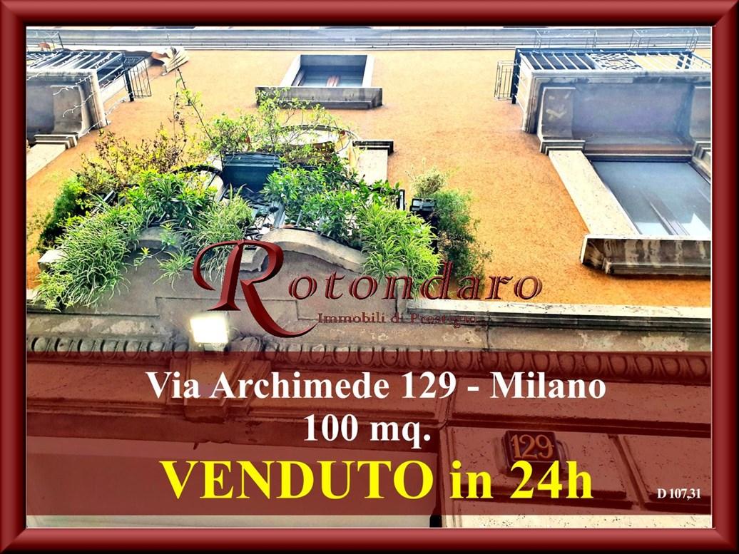 Appartamento in Vendita in Via Archimede Milano