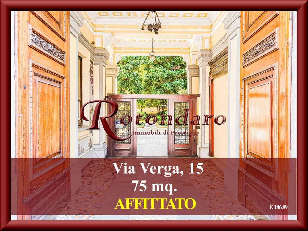 , Via Verga, Milano