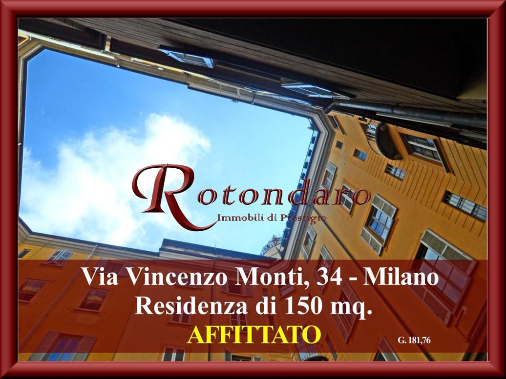 , Via Vincenzo Monti, Milano