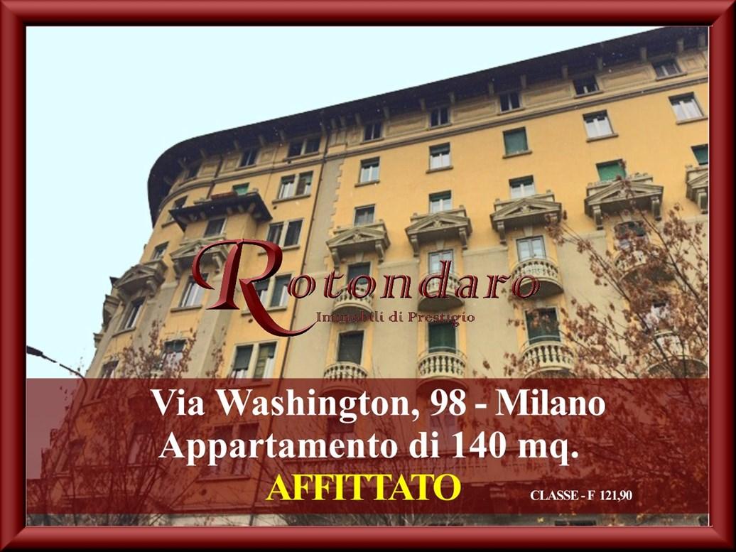 , Via Washington, Milano