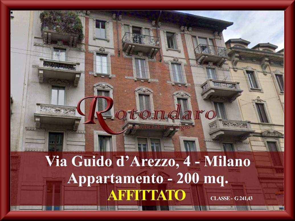 , Via Guido d'Arezzo, Milano