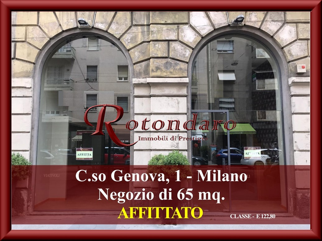 P.ta Genova, Romolo, Solari  Negozio in Affitto