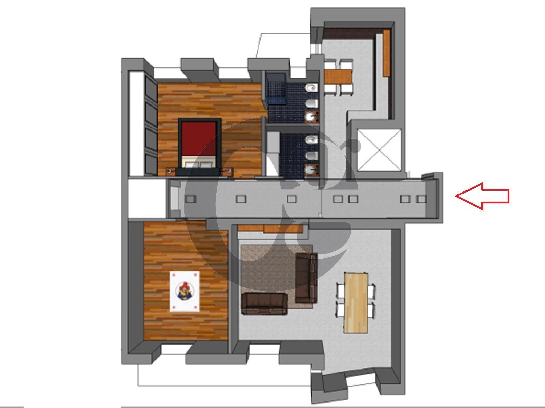 Brescia ufficio/appartamento sul ring in vendita
