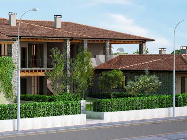 Gussago quadrilocali con giardino o terrazza in vendita