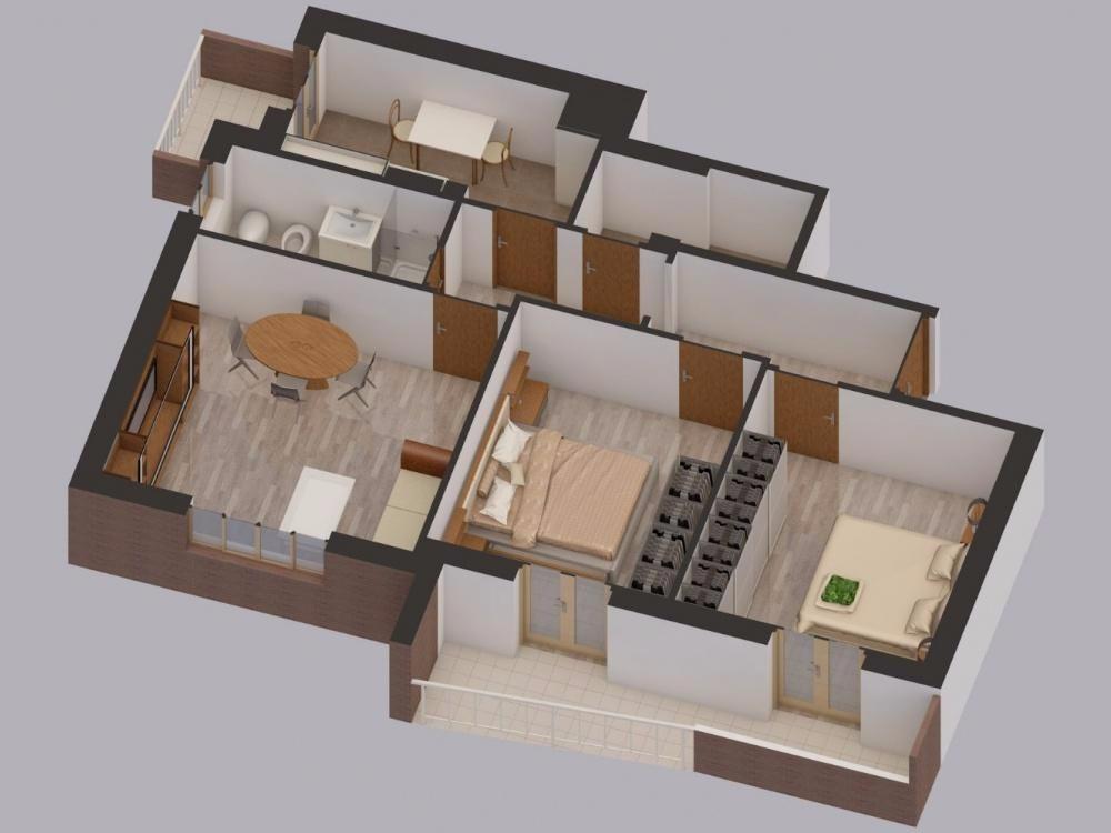 Appartamento in vendita a Roma, 3 locali, zona Zona: 24 . Gianicolense - Colli Portuensi - Monteverde, prezzo € 310.000 | CambioCasa.it